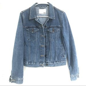 Aritzia Jackets & Coats - Aritzia Wilfred mathilde denim jacket
